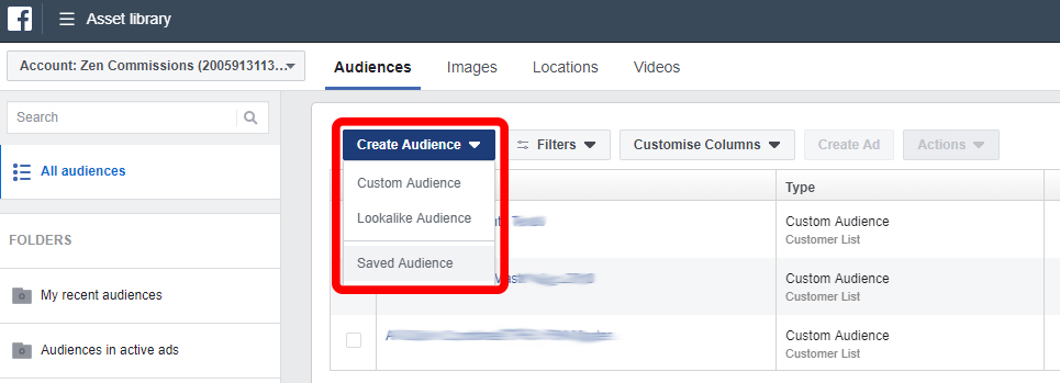 creating facebook audiences for real estate marketing